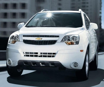 Chevrolet Captiva sport 2013 Colombia