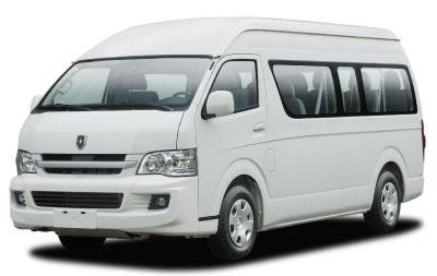 microbus jinbei travel h2