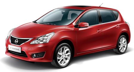 Automovil Nissan Tiida 2014