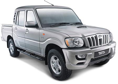 camioneta Mahindra Pik Up doble cabina