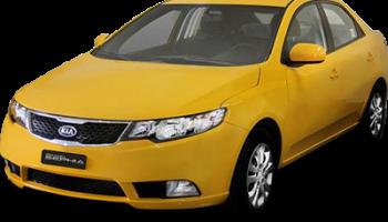 Taxi Kia Grand Sephia 2016