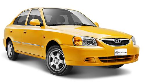 Hyundai taxi super pony
