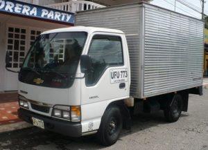 Furgón mixto para Chevrolet NHR de 2 toneladas