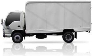 Furgón mixto (carga seca) para Chevrolet NKR