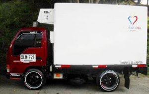 Furgón aislado para Chevrolet NKR de 3.5 toneladas