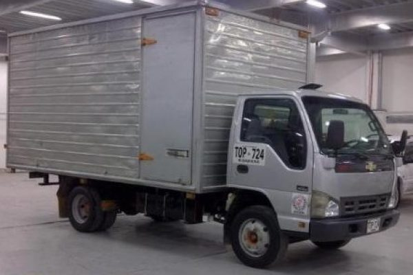 Furgón mixto para Chevrolet NNR de 4 toneladas