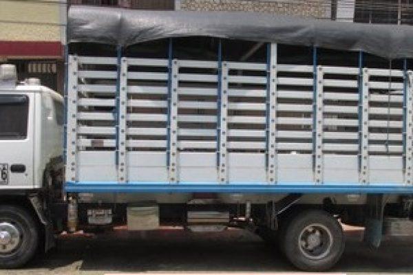 Carrocería de estacas para JAC 1060 de 5.3 toneladas