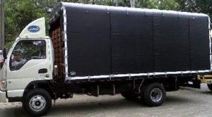 Carrocería de estacas para JAC 1083 de 7.4 toneladas