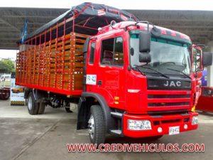Carrocería de estacas para JAC 1134 de 11 toneladas
