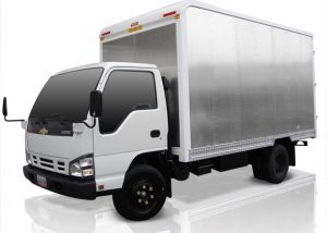 Furgón mixto (carga seca) para Chevrolet NPR