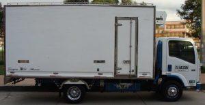 Furgón aislado para Chevrolet NPR de 5 toneladas