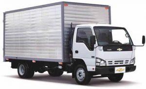 Furgón mixto para Chevrolet NQR de 6 toneladas
